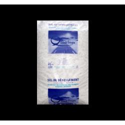 Sel de déneigement sac de 25 kilos - LIVRAISON GRATUITE