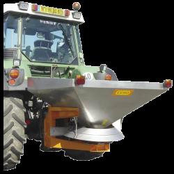 Épandeur à sel porté CEMO SA665 pour tracteur catégorie 3 - Capacité 665 Litres